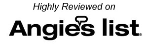 Highly Reviewed on Angie's List