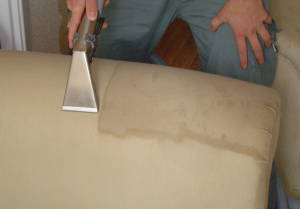 upholstery cleaning raleigh using hot water extraction