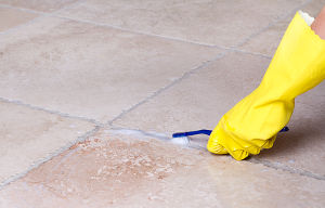 grout cleaning by hand