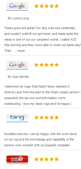 ace rug cleaning reviews