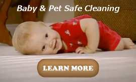 baby and pet safe carpet cleaning button