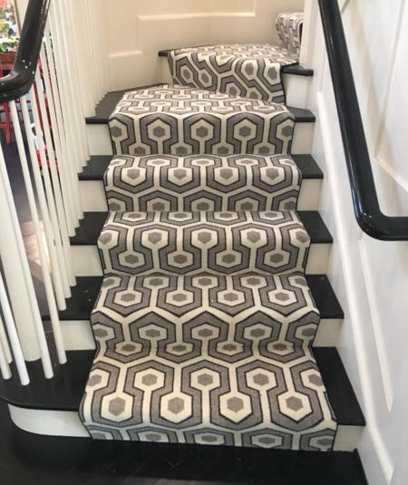 Carpet Runners And Stair In